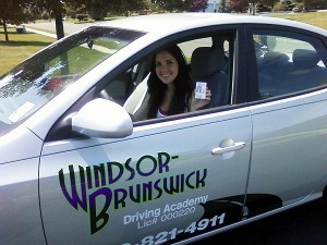 Another Happy WB Driving Graduate