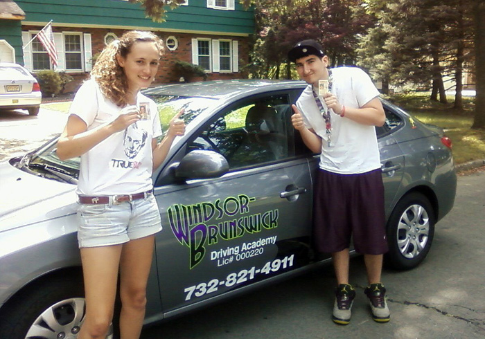 Happy Graduates of the Windsor-Brunswick Driving Academy