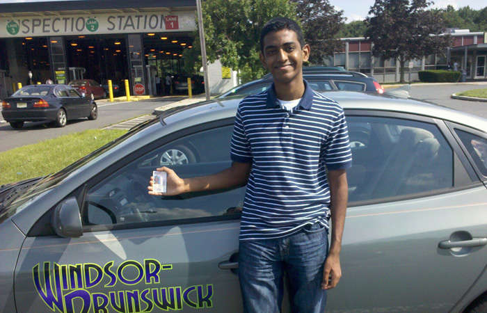 Another Successful Windsor Brunswick Driving School Graduate