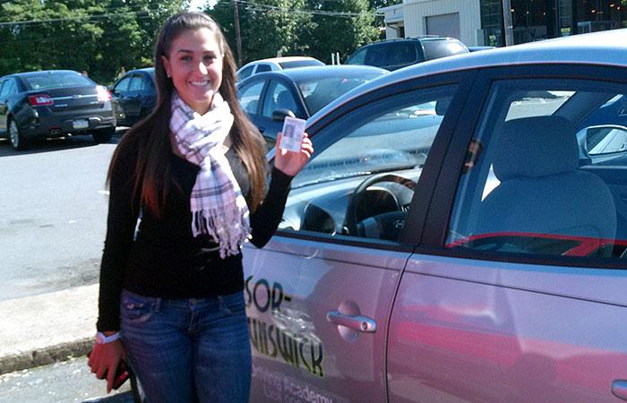 Another Satisfied Windsor Brunswick Driving School Graduate 9-16-11