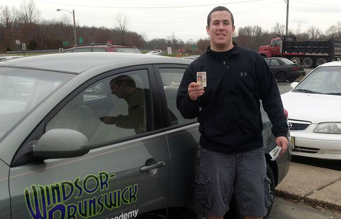 Another Satisfied Windsor-Brunswick Driving School Graduate