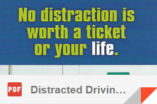 CLICK TO OPEN - 'Distracted Driving'